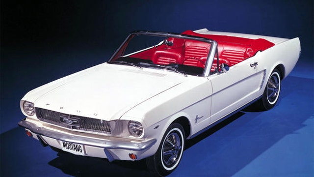 A look at the Mustang's five-decade evolution