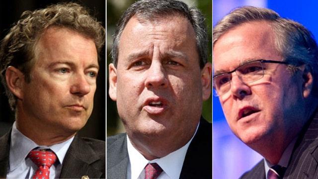 Fox News Poll: Christie, Bush, Paul lead GOP 2016 pack