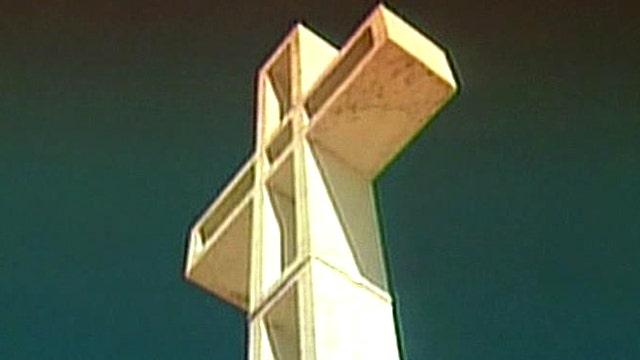 War memorial cross sparks constitutional battle