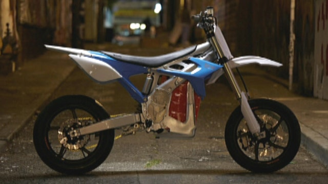 War Games: Near silent hybrid motorcycles for special ops