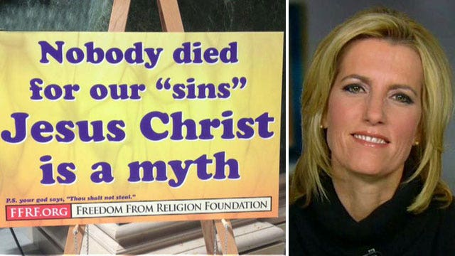 Atheist group's controversial sign