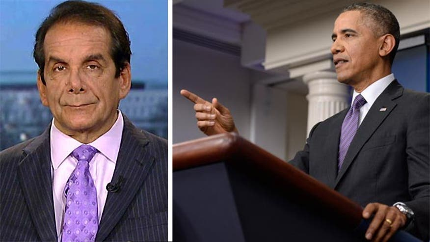 Krauthammer: On Obamacare, 'It's working in that it exists'