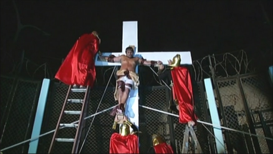 Inmates from a Peru prison performed the musical 'Jesus Christ Superstar' as part of Holy Week celebrations.