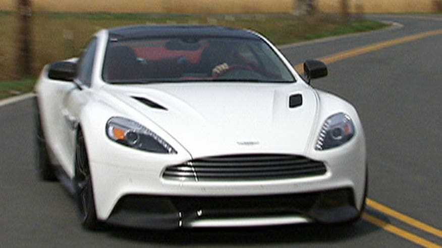 Fox Car Report drives the 2014 Aston Martin Vanquish