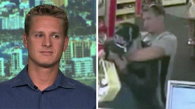 Good Samaritan tackles armed robber at CVS