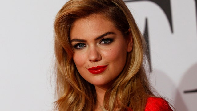 Kate Upton denies breast quotes