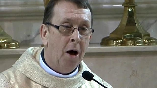 Singing priest becomes viral video star