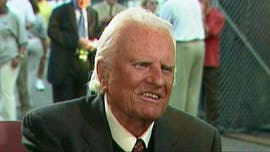 The Rev. Billy Graham , the Christian evangelist whose worldwide crusades and role as adviser to decades of U.S. presidents made him one of the best known religious figures of his time, died Wednesday at age 99 at his home in Montreat, N.C, Todd Shearer of DeMoss Associates told Fox News.