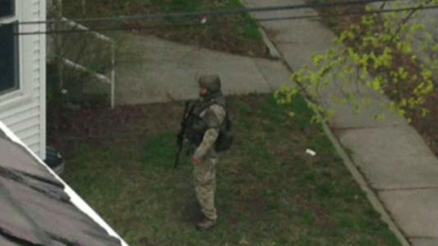 Watertown residents on alert following overnight shootout that killed one bombing suspect