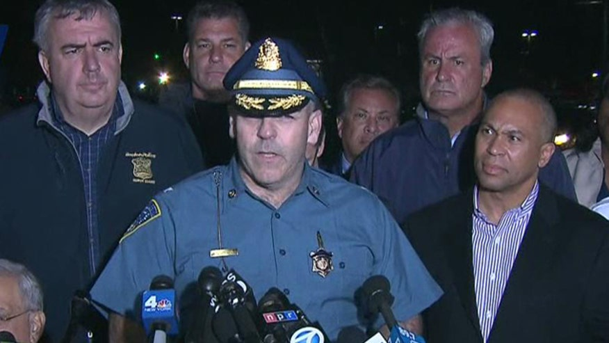 Boston authorities brief public on capture of bombing suspect