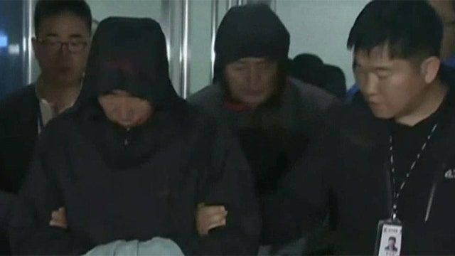 Three arrests made in Korean ferry accident