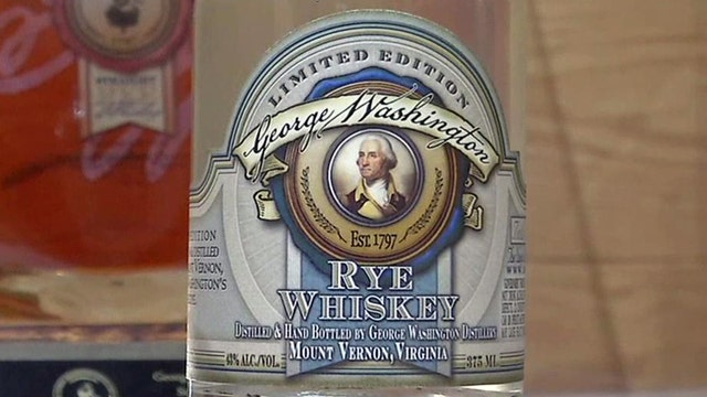 A taste of George Washington's whiskey