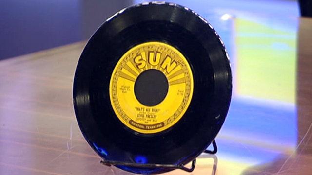 Rare Elvis artifacts on display