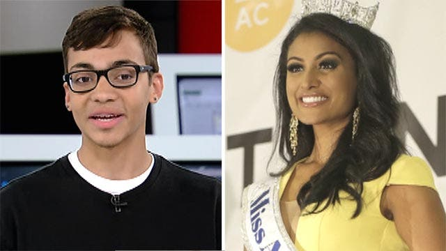 High schooler doesn't regret asking Miss America to prom