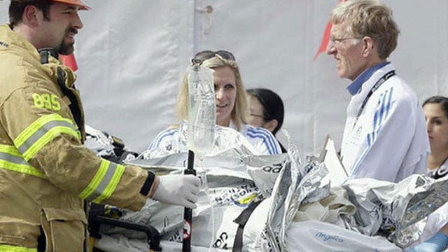 Runner who became first responder relives marathon attack