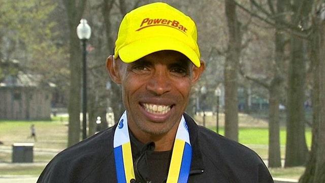 Meb Keflezighi on winning Boston Marathon