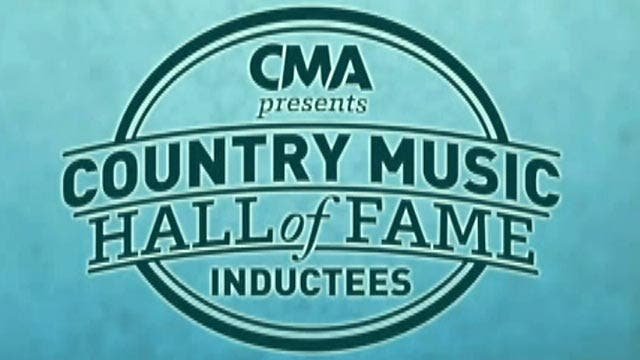Country Music Hall of Fame inducts 3