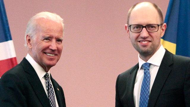 Biden pledges support in meeting with Ukrainian leaders