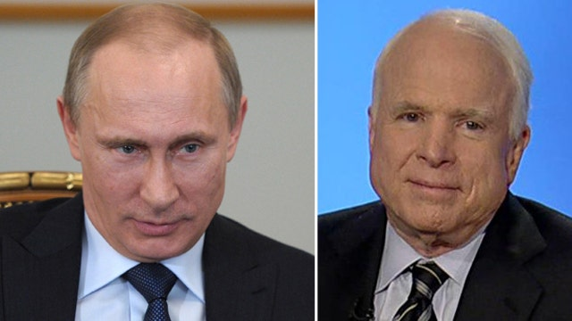 McCain: Russia taking advantage of American weakness