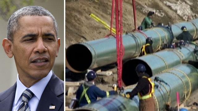 Unions slam President Obama over 'gutless' Keystone delay