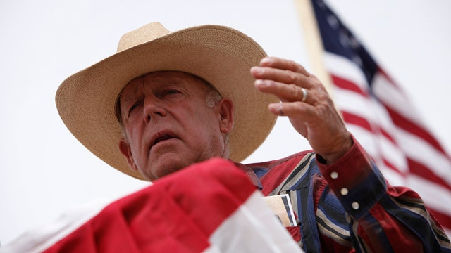 Cliven Bundy disputes government's authority over ranch