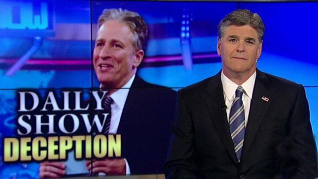 Hannity Responds to Jon Stewart