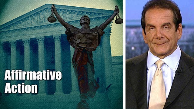 Krauthammer: up to the people