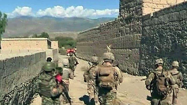 US looks into reducing Afghan troop levels