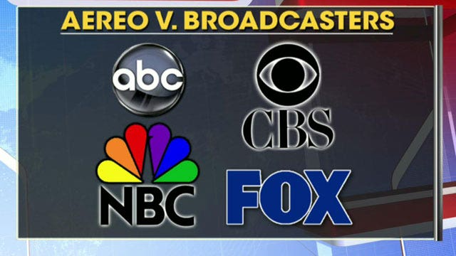 Supreme Court considers online streaming of broadcast TV