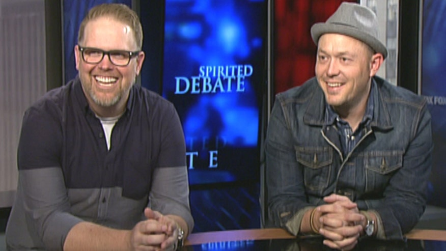 MercyMe members Bart Millard and Michael Scheuchzer talk about 'Welcome to the New'