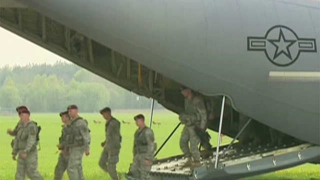 US sends troops to Eastern Europe for military exercises