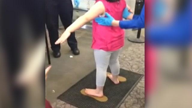 TSA agents pat down 2-year-old, 6-year-old siblings