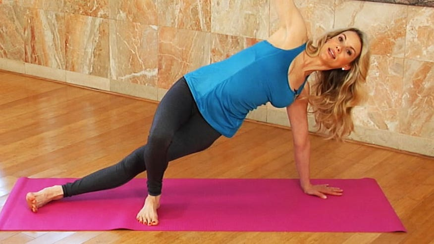 Fitness expert, Kristin McGee shows us three moves for sexy arms.