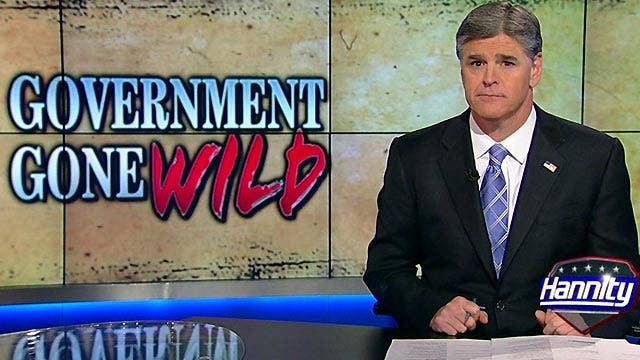 Sean Hannity: 'Our government is simply out of control'