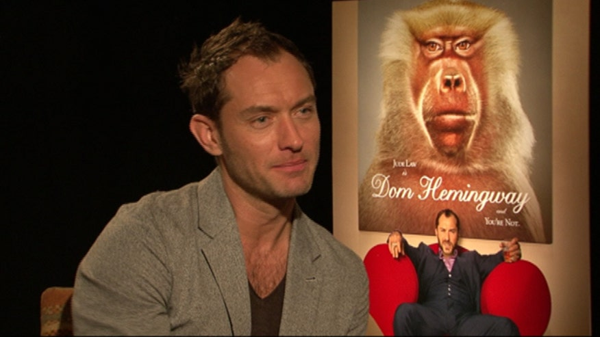 British star talks 'Dom Hemingway'