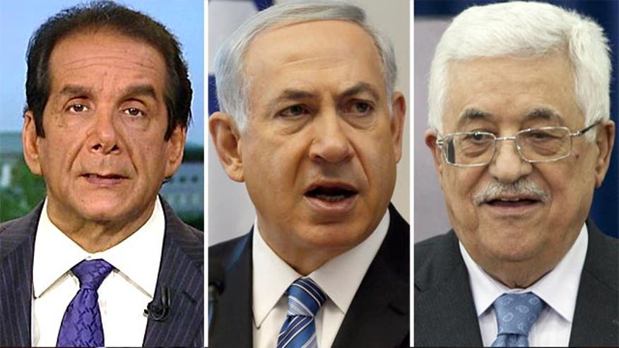 """Charles Krauthammer told viewers Thursday on """"Special Report with Bret Baier"""" he's not surprised that Israeli-Palestinian peace talks have once again fallen apart."""