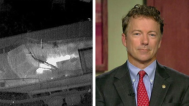 Sen. Rand Paul clarifies his position on drones