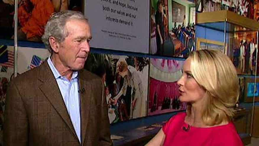 Sneak peek at Dana Perino's interview with former President Bush