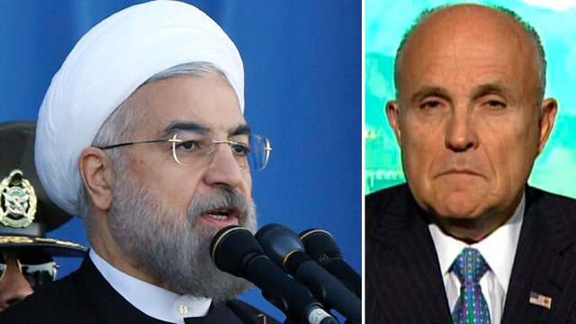 Giuliani: Iran leader has 'no respect' for US administration