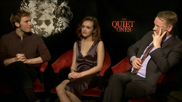 'The Quiet Ones' stars on things that go bump in the night