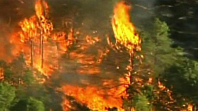 Wildfires rage across southern New Jersey