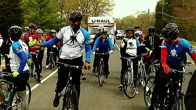 Wounded vets ride for recovery