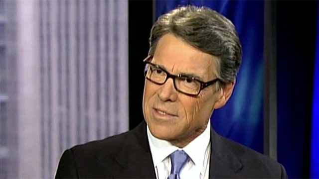 Gov. Rick Perry on courting companies to move to Texas