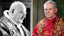 On Sunday, Pope Francis makes history yet again.  He makes two Popes saints in a single ceremony--John Paul II and John XXIII, the man who convened the Second Vatican Council in .