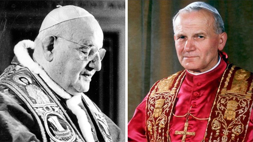 Both Popes will be canonized this Sunday