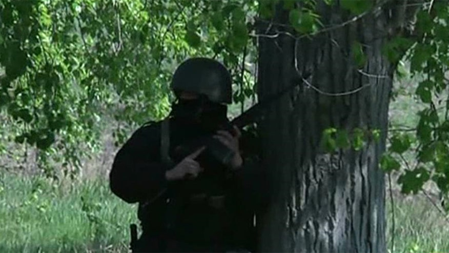 Ukraine's military moves to intervene