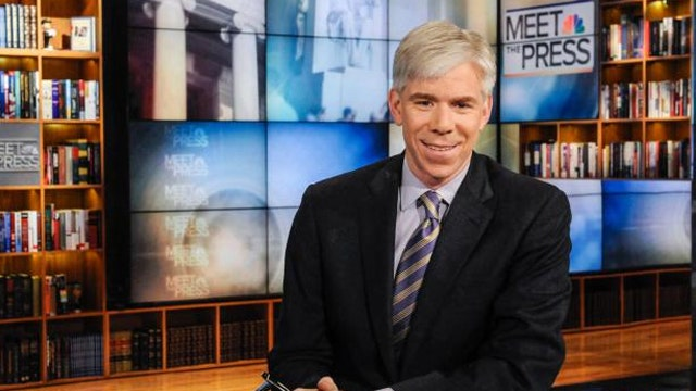 David Gregory, on the couch