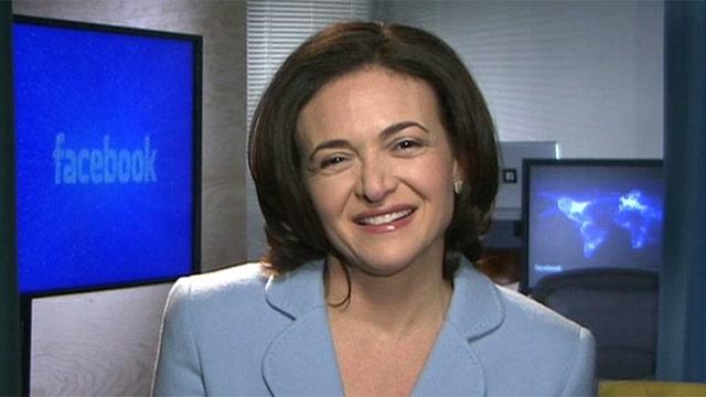 Exclusive: Facebook COO Sheryl Sandberg