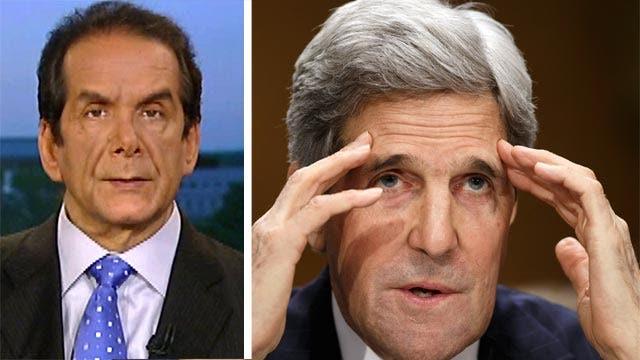 Krauthammer: Kerry's Israel Statements 'Beyond Nonsense'