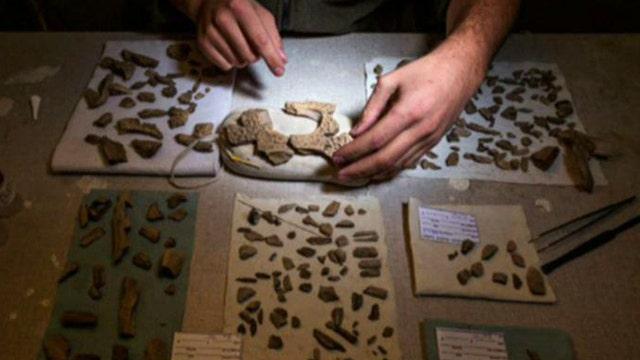 Dinosaur hunters discover fossil treasure in Utah desert